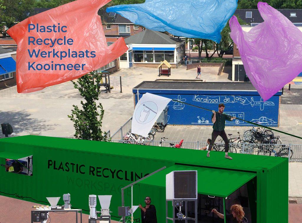 De Plastic Recycle Werkplaats Kooimeer