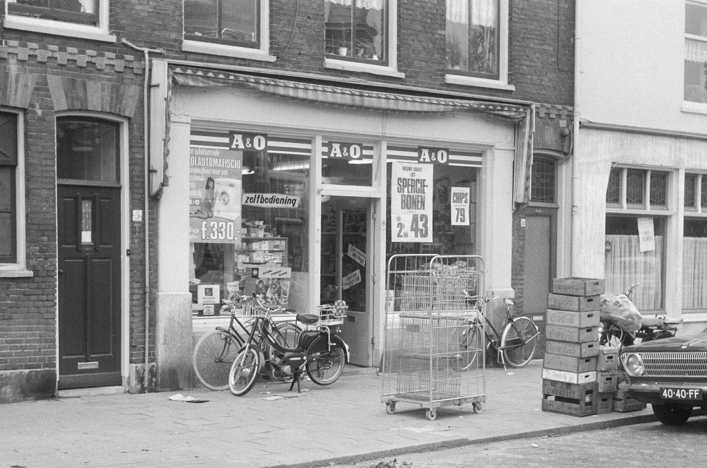 Buurtwinkel Herenstraat 3 Leiden